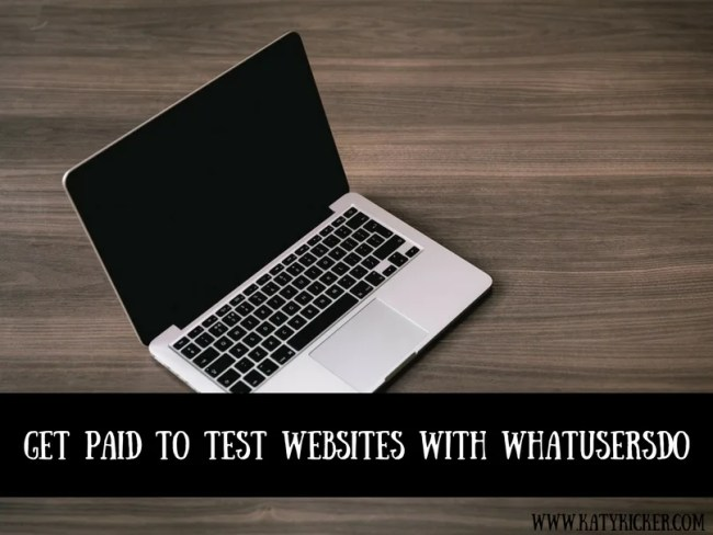 Get paid to test websites online with WhatUsersDo and provide your feedback. £5 per test for under 10 minutes work.