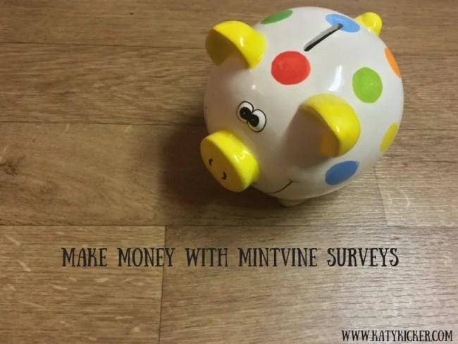 Make money with MintVine surveys