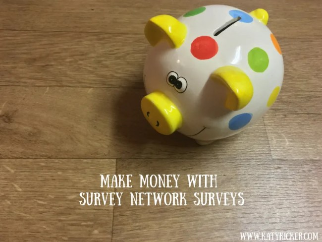 Make money with Survey Network surveys