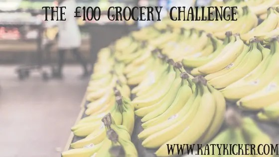 The £100 grocery challenge