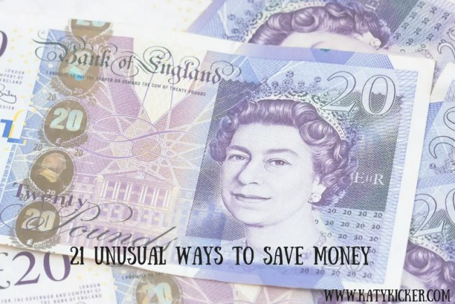 21 unusual ways to save money