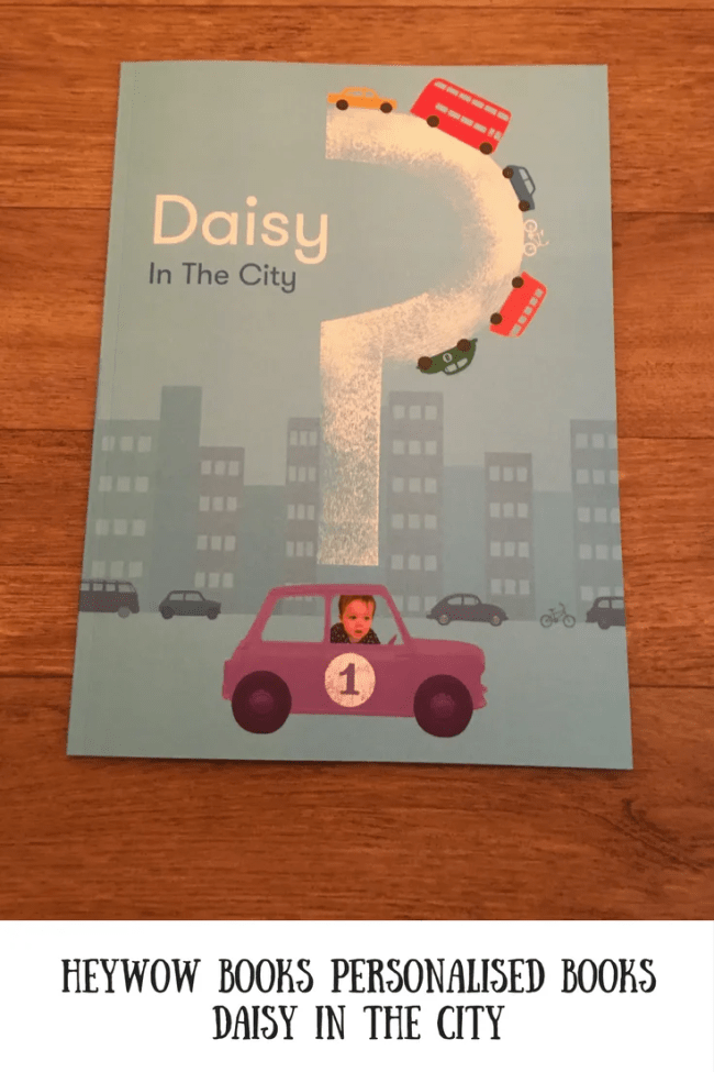 (AD) HeyWow Books - Daisy in the city. A review of a a beautiful personalised book.