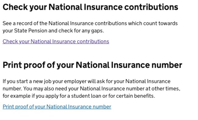 Print National Insurance Number >> How To Check For Gaps In Your National Insurance Katykicker