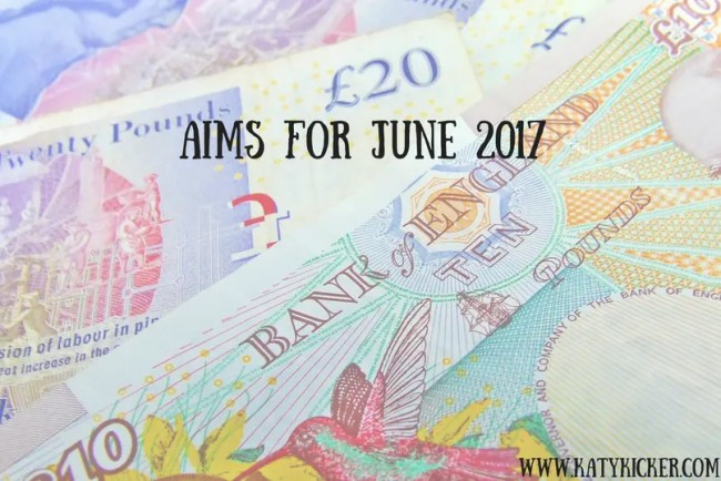 Find out more about my Aims for June 2017