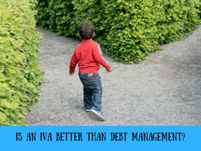 Is an IVA better than debt management?
