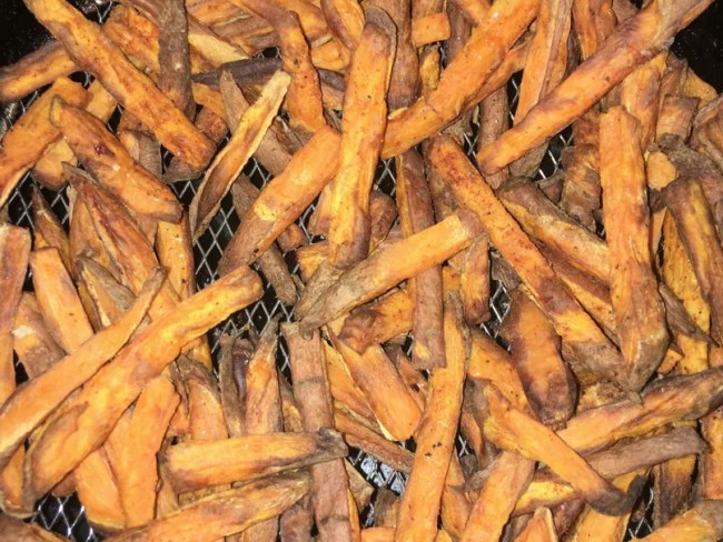 My airfryer sweet potato fries taste delicious, are simple to make and healthy too