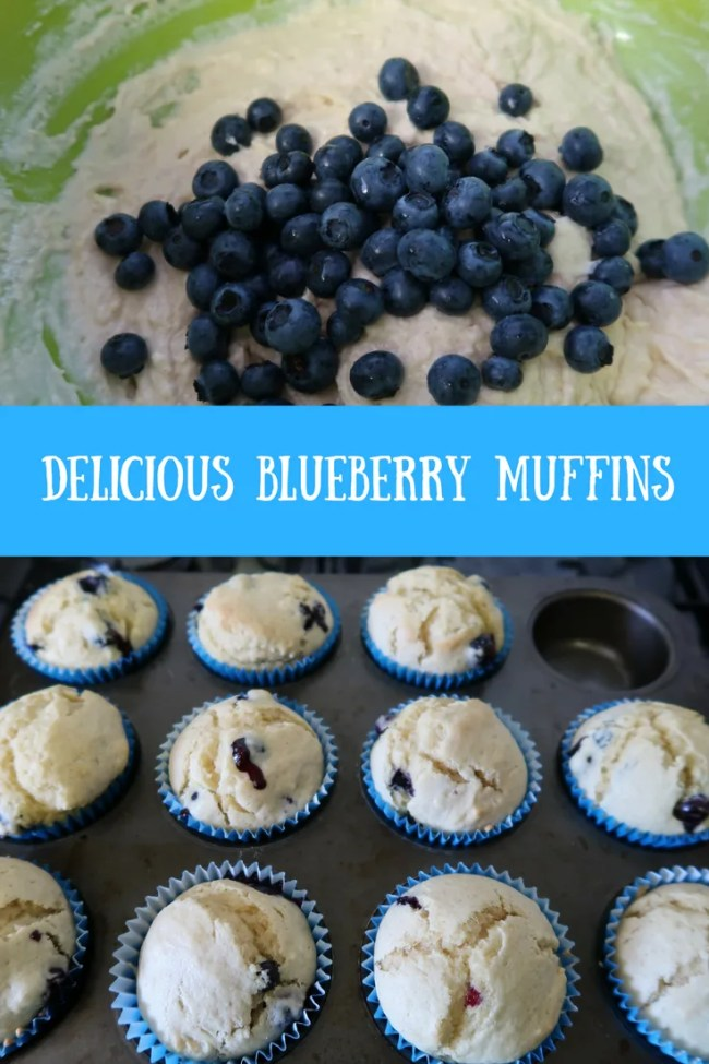 Find out how to make delicious dairy free blueberry muffins. They are cheap, tasty and delicious too!