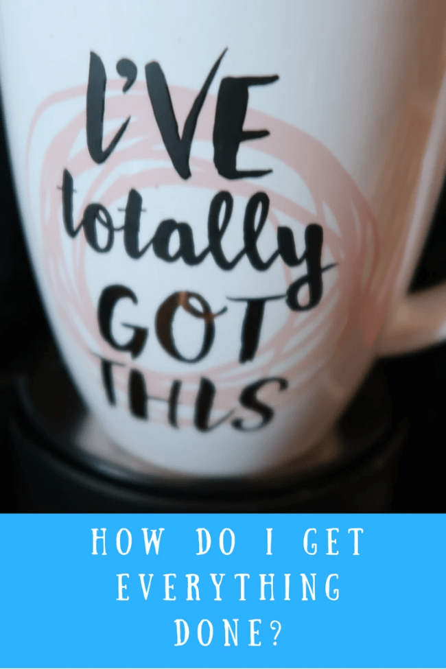 I work from home full-time, care for my daughter, look after my home, run an allotment and more. How do I get everything done? I'm sharing today how!