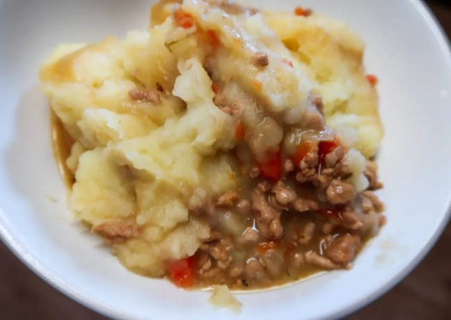 A look at the slow cooker cottage pie