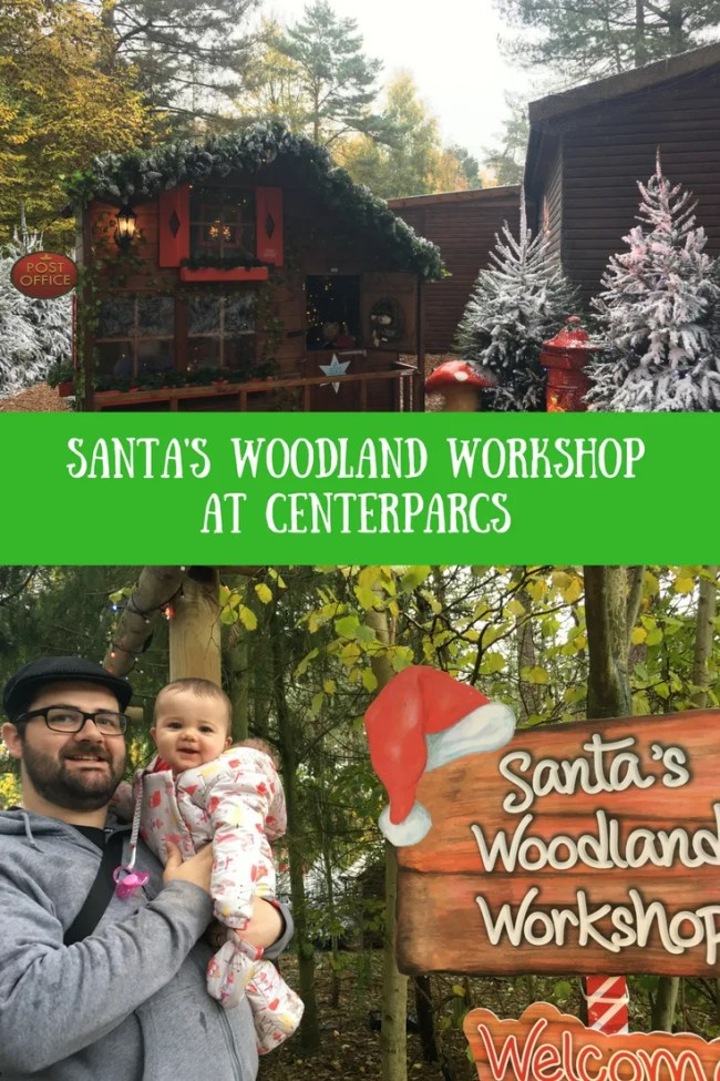 Looking forward to visiting Winter Wonderland at Centerparcs? Find out more about Santa's Woodland Workshop