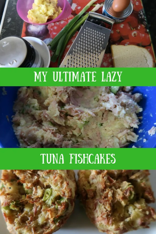 My ultimate lazy tuna fishcakes. Frugal fishcakes that take just minutes. Cheap eats, frugal recipes, love your leftovers