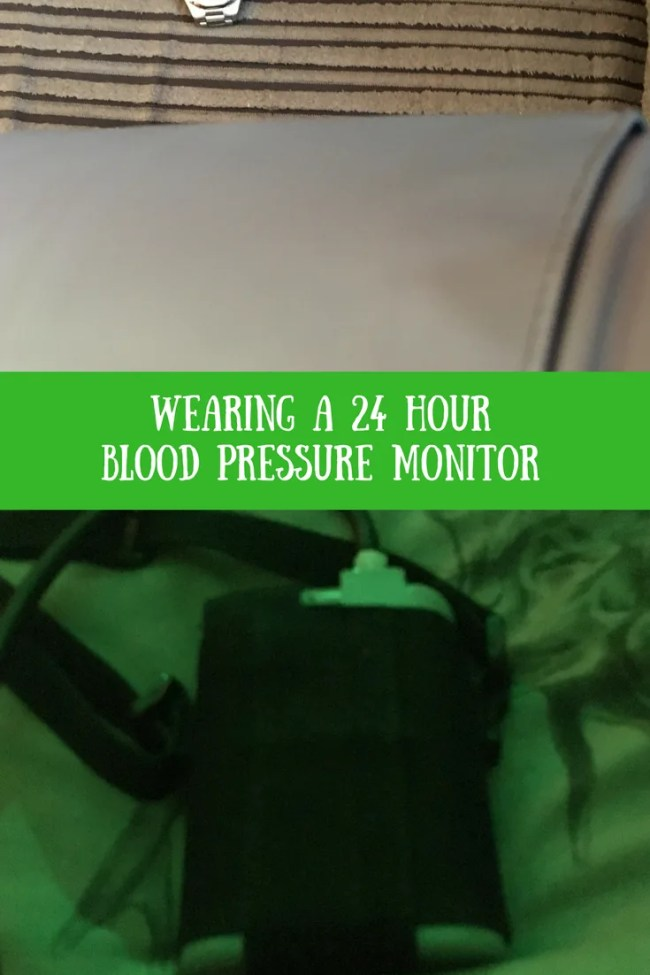 What To Expect Wearing A 24 Hour Blood Pressure Monitor