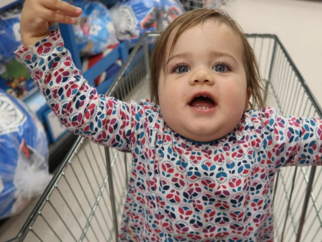 Daisy is 18 months old - We went to Toys R Us