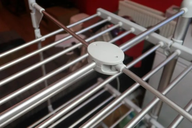 Dry:Soon 3-Tier Heated Tower Airer - A look at the top