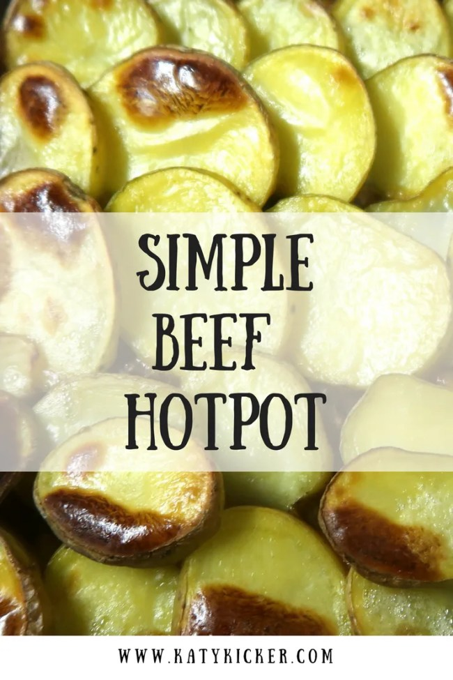 Super simple beef hotpot. Easy to prepare, cheap and ready to go in the oven in just minutes. Frugal food, cheap eats, simple beef recipes