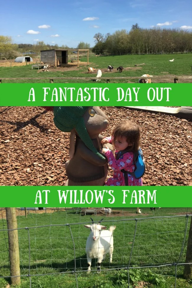 (AD) A fantastic family day out in Herts & Essex at Willow's Farm St Albans, Hertfordshire. Family fun down at the farm
