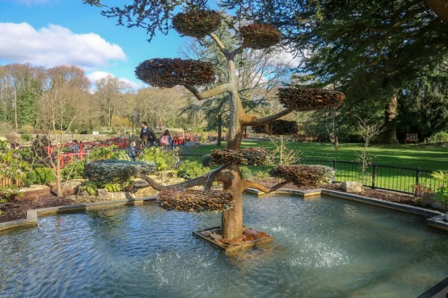 A family trip to Peppa Pig World - beautiful grounds