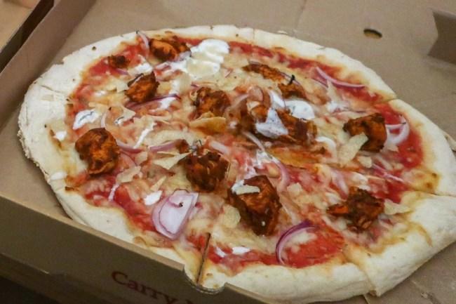 Bluestone Wales - Oak Tree Restaurant takeaway pizza