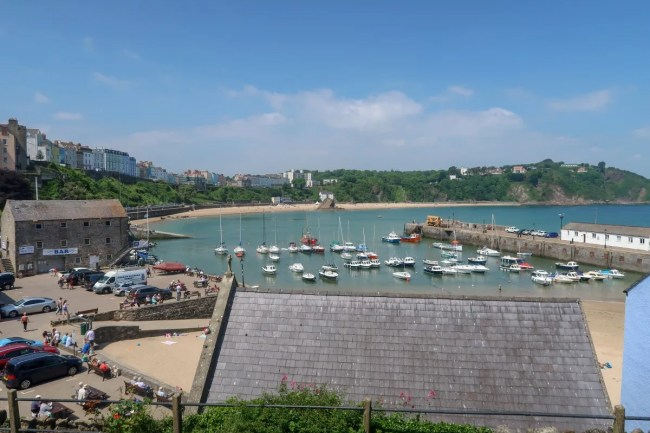 Bluestone Wales - view over Tenby