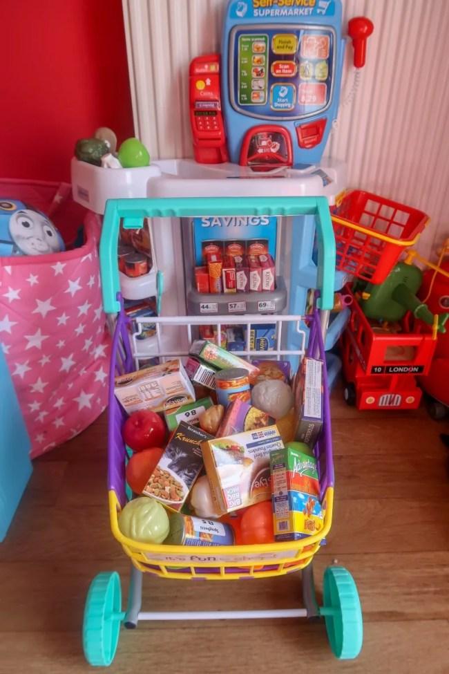 Casdon Little Helpers Shopping Trolley