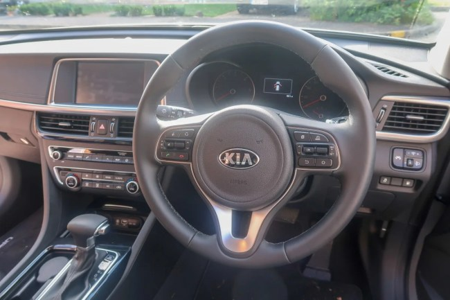 Kia Optima Sportswagon - Steering column