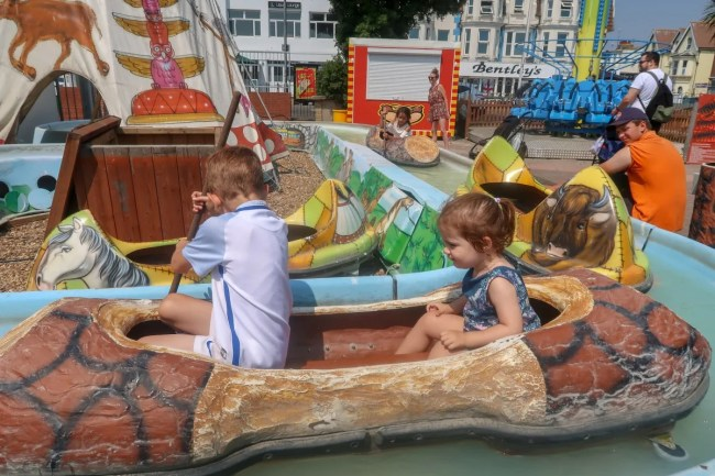 A trip to Clacton-On-Sea - Daisy and Eddie