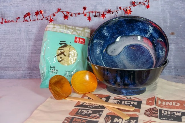 2018 Christmas Gift Guide for food & drink lovers - Souschef Ramen Kit