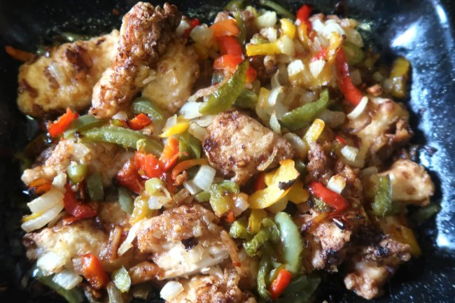 Mealtime inspiration - salt & pepper chicken