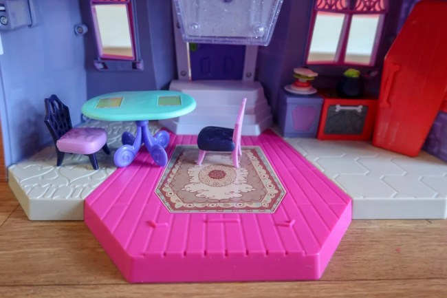 The ground floor of the Vampirina Scare B&B