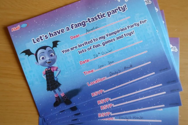 Vampirina Invitations