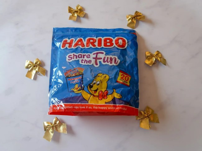 2018 Christmas Gift Guide for food & drink lovers - Haribo sweets