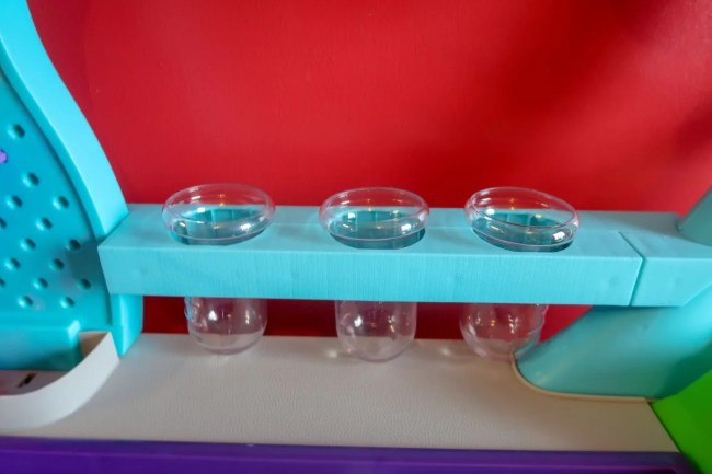 The test tubes in the Little Tikes Wonder Lab