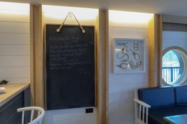 Centerparcs Waterside Lodge Review - Noticeboard