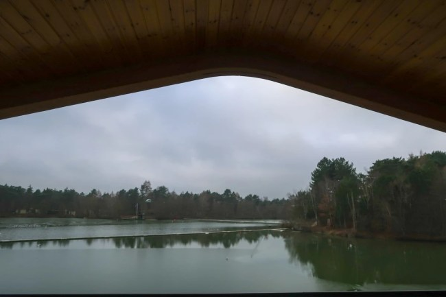 Centerparcs Waterside Lodge Review - The view from the upstairs balcony