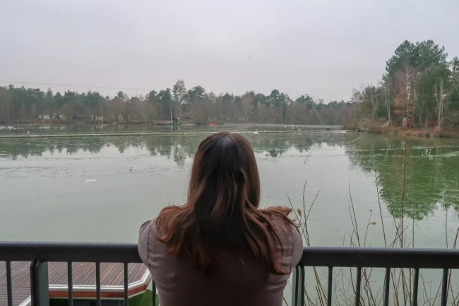Centerparcs Waterside Lodge Review - The view