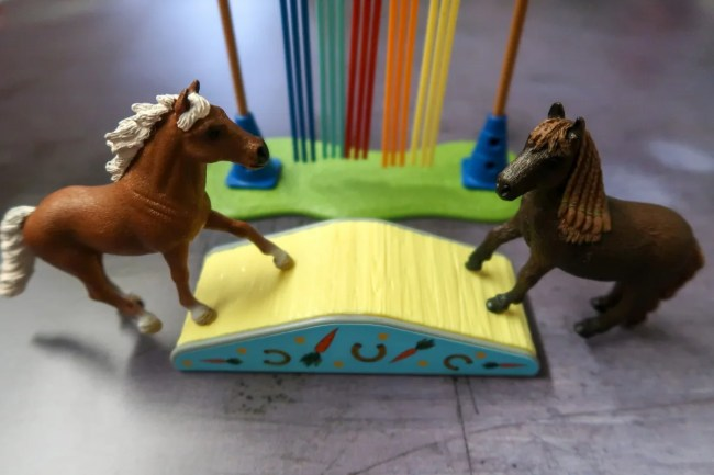 Schleich Pony Agility Training