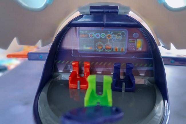 Inside the PJ Masks HQ Rocket