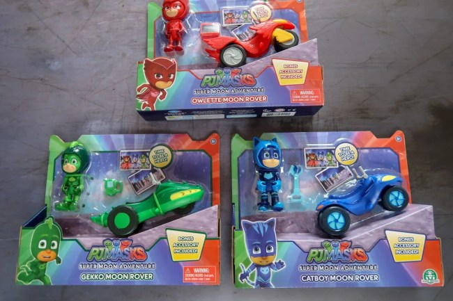 PJ Masks Moon Rovers