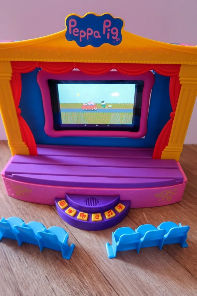 Seating for Peppa Pig Stage