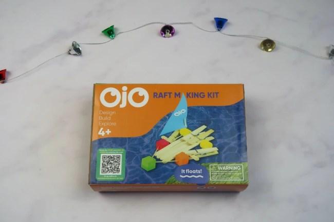 Christmas gifts for children - Raft making kit