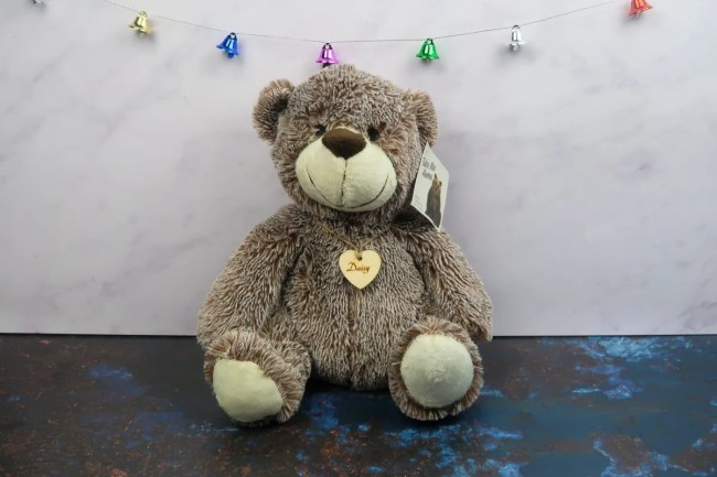 New home Christmas Gift Guide for 2019 - The Personalised Gift Shop Bear Doorstop