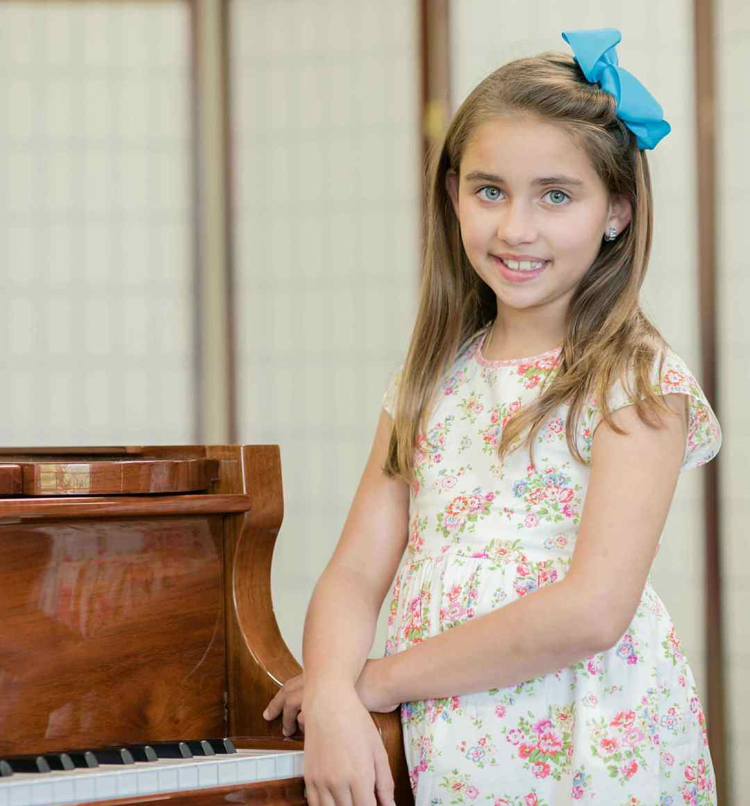 Piano student at The Conservatory of Music at North Katy