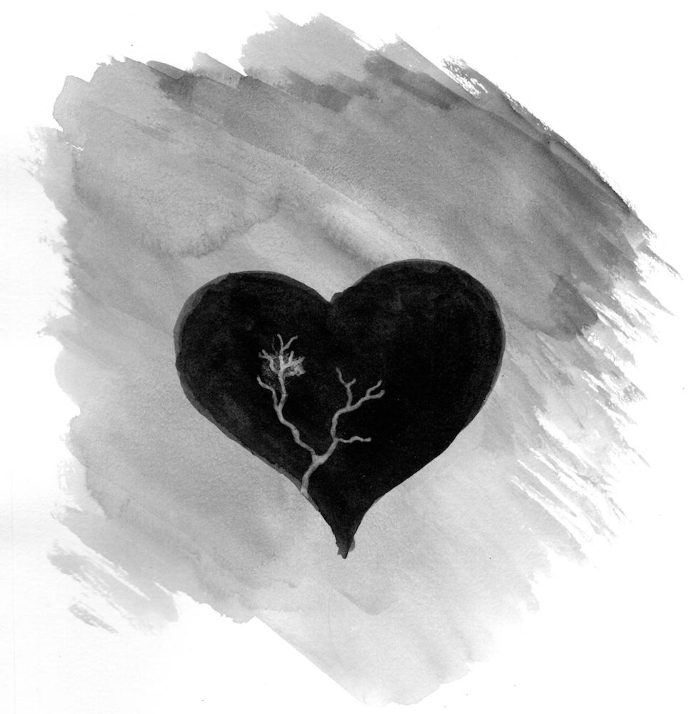 #inktober #inktober2018 day 20: breakable. Heart.