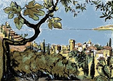 View into Kardamyli