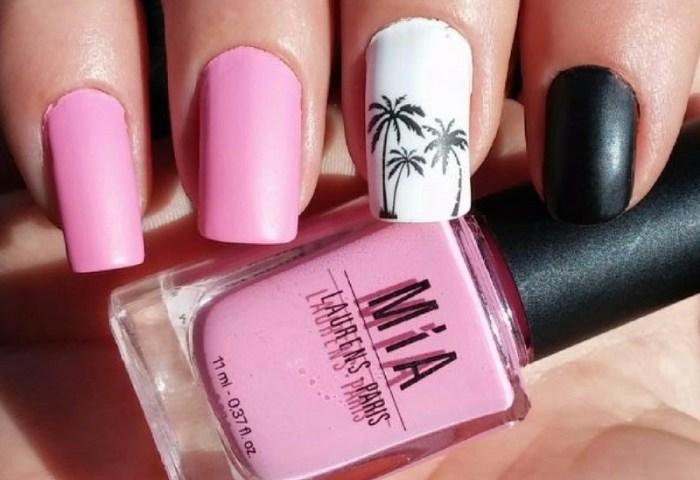 Uñas Decoradas En Rosa 2 Katyushka Nails