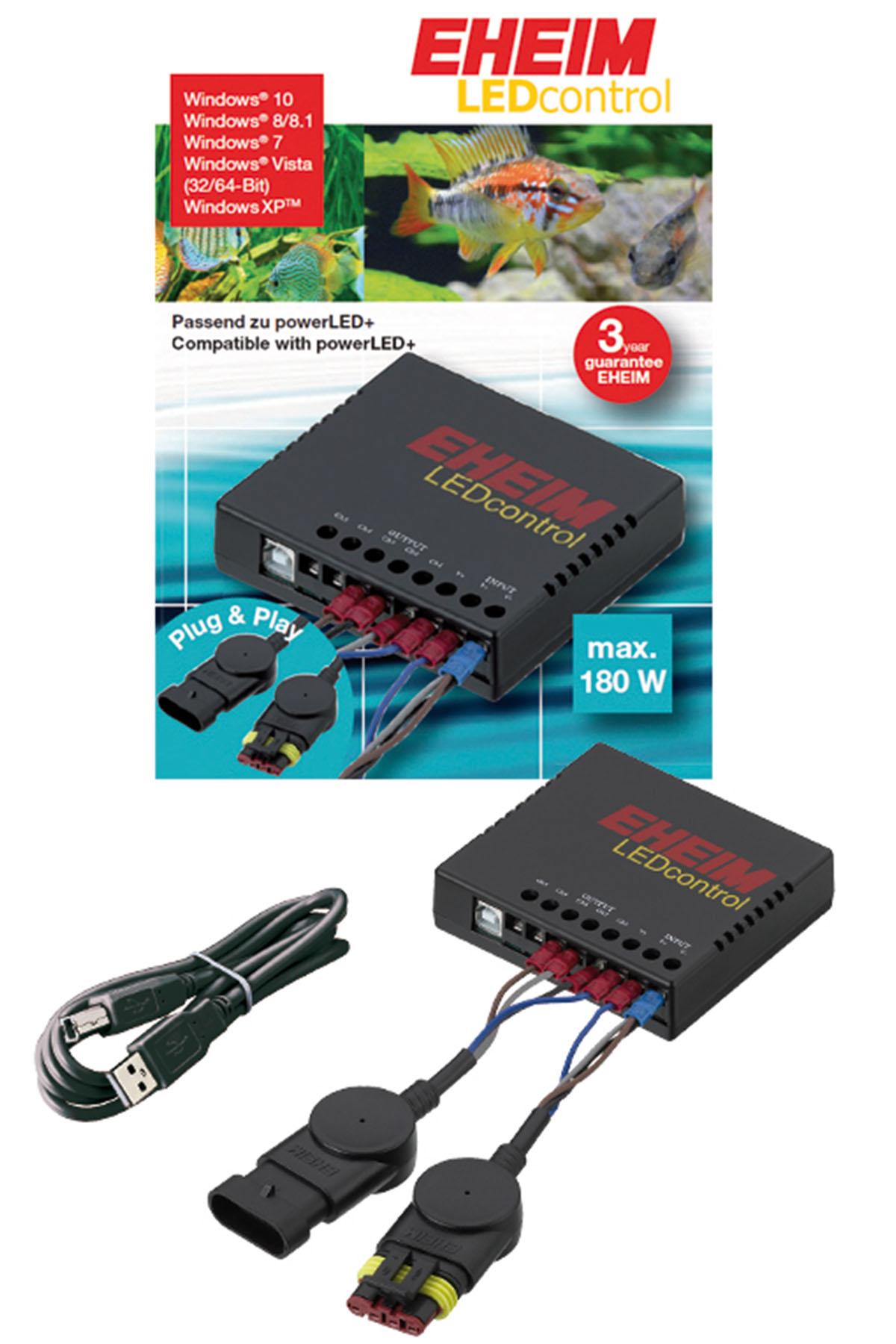 Der LEDcontrol ist eine Steuerung zur Simulation von Helligkeitsverlauf und Lichtstimmungen wie in der Natur.