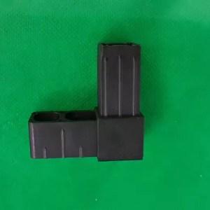 Eck-Verbinder schwarz, 90° Ecke