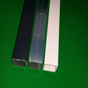 Aluprofil 20x20 - Vierkantrohr Volierenbau