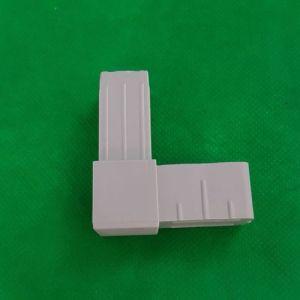 Verbinder Alurohr vierkant
