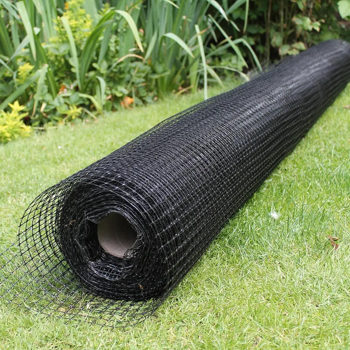 Katzennetz schwarz 1m breit
